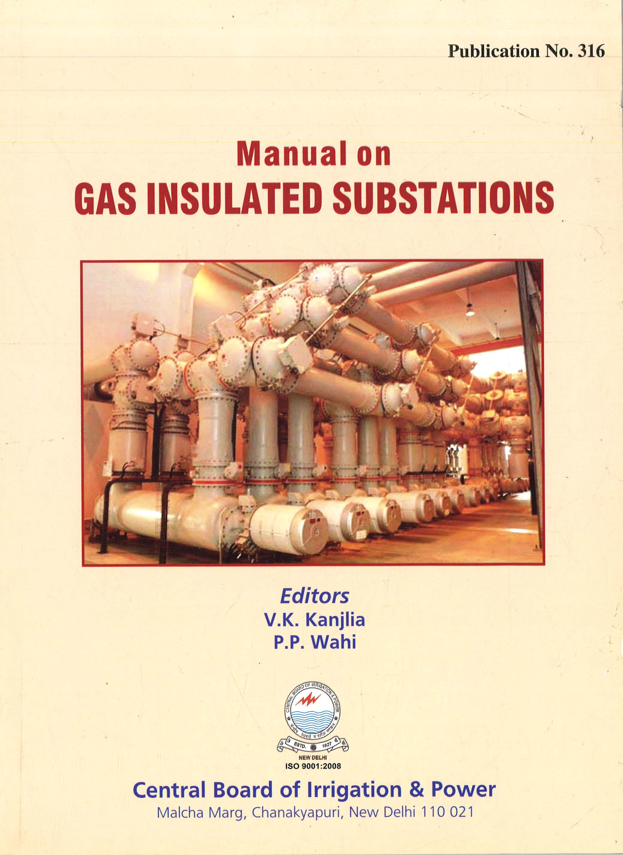 Book Title: Manual on Gas Insulated Substations
