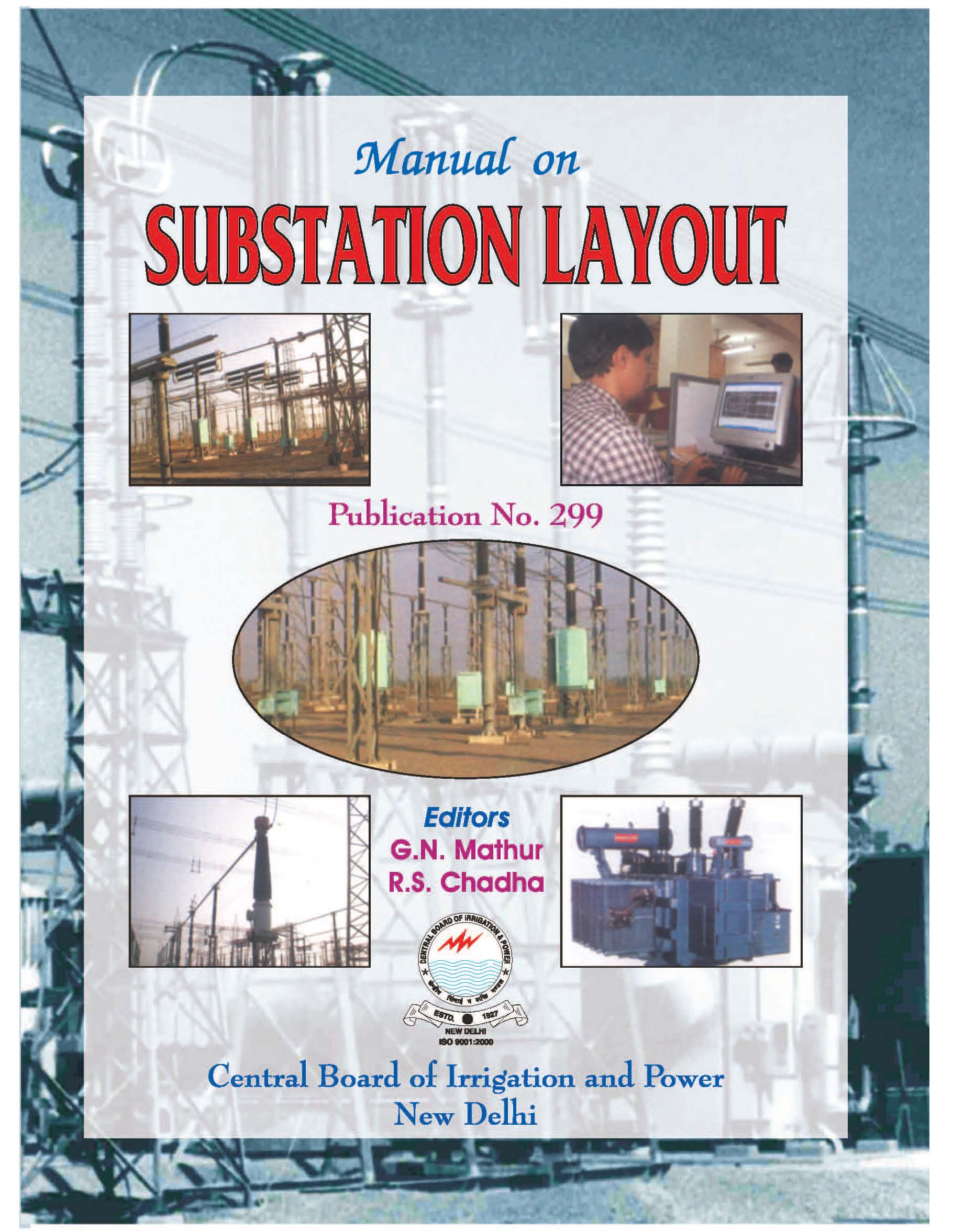central board of irrigation and power rh cbippublication org Electrical Substation Transformer Maintenance ehv substation maintenance manual